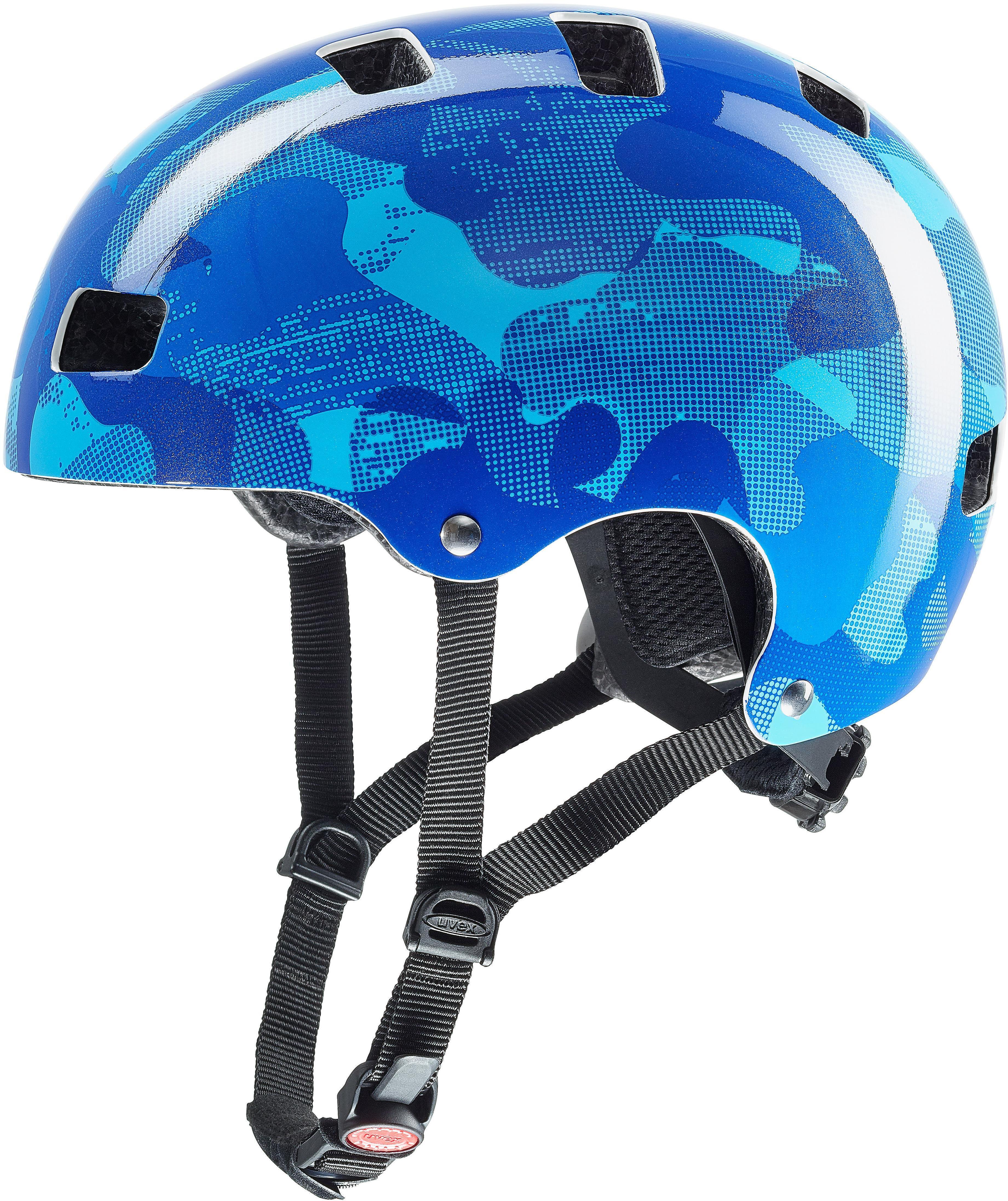 uvex kid 3 helmet blue online bei. Black Bedroom Furniture Sets. Home Design Ideas